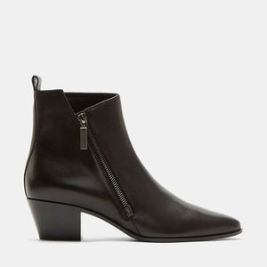 Saint Laurent women's rock 40 ankle zip boot